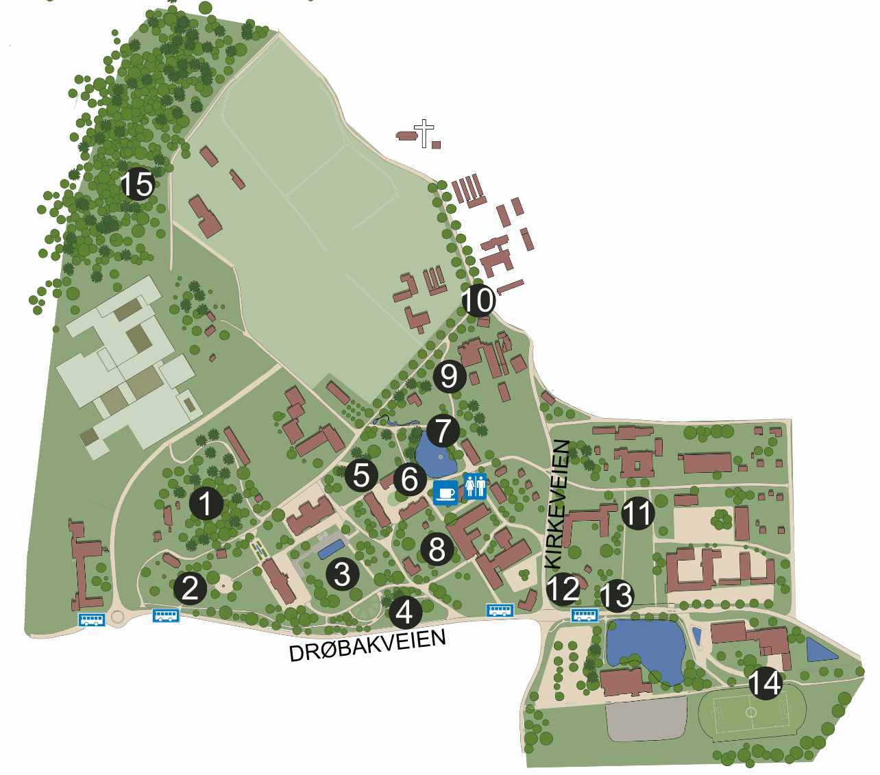 Areas in the Park